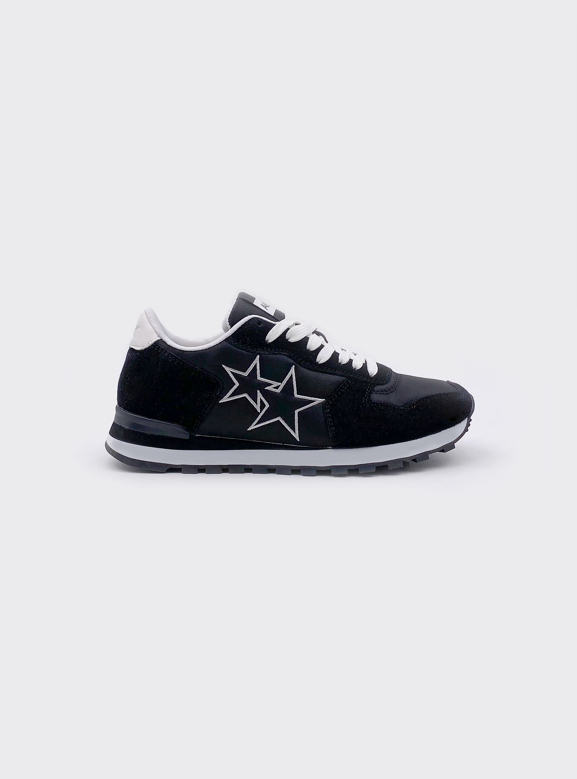 Trainers with stars print