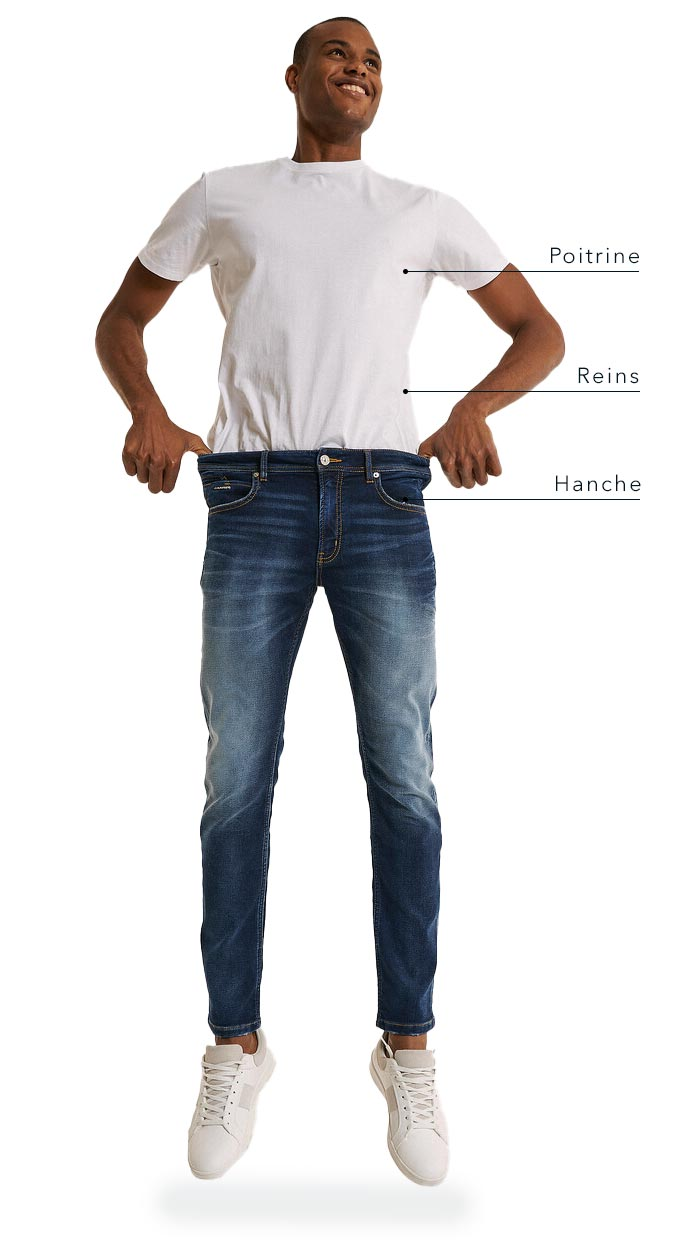 Men's Casual Sizing Chart