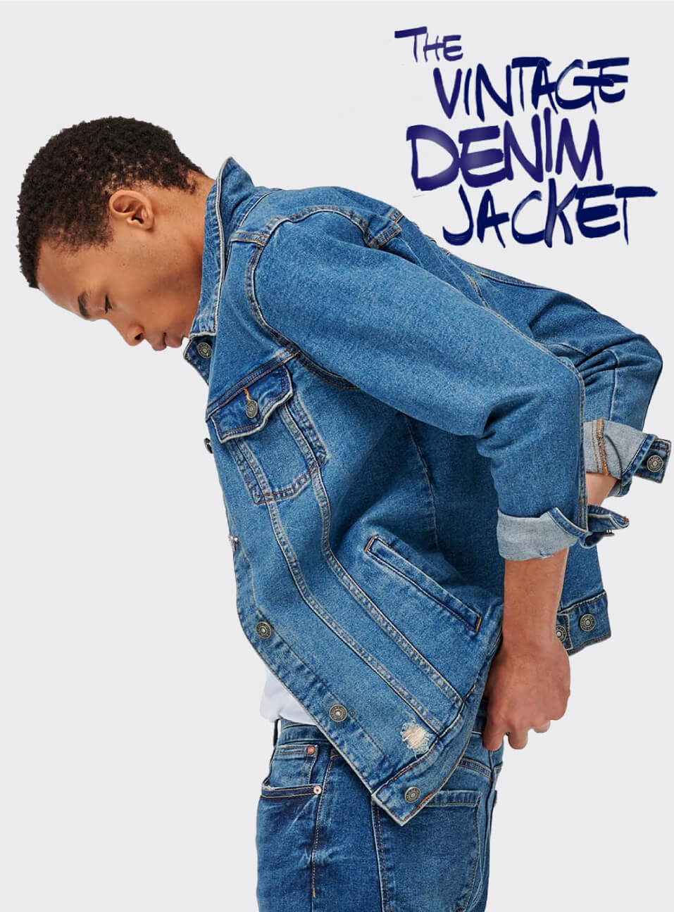 Denim jacket jeans