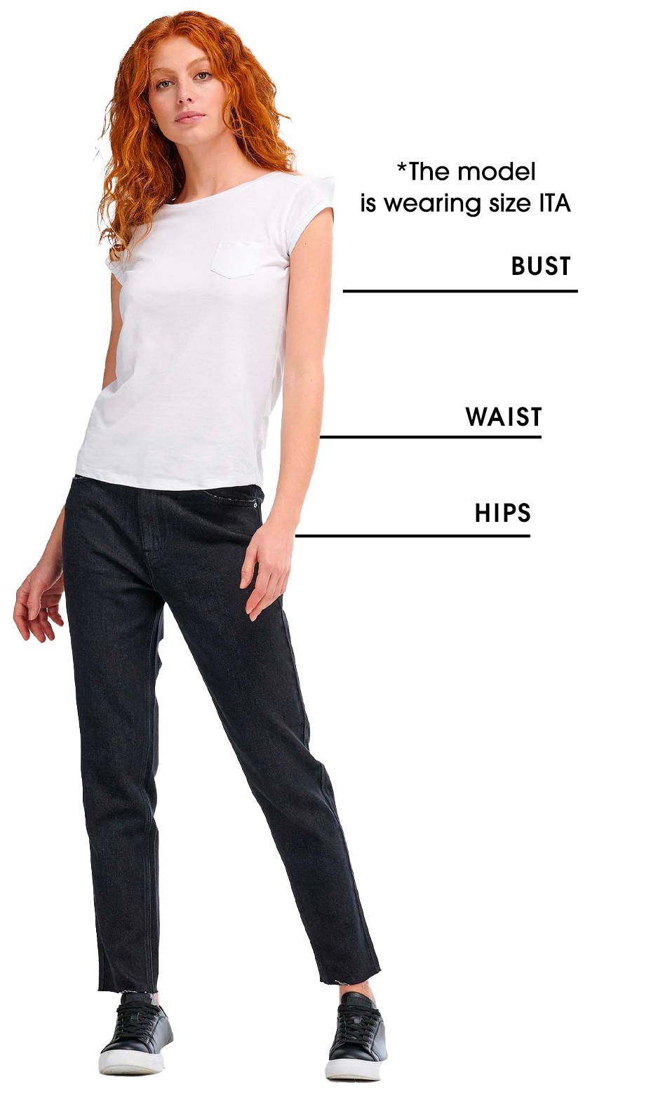 Women's Casual Sizing Chart